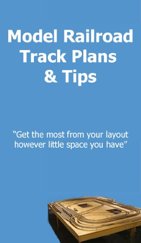 Model railroad track plan and tips