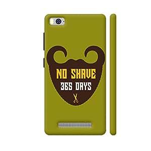Colorpur 365 Days Of Beard No Shave Designer Mobile Phone Case Back Cover For Xiaomi Mi 4i | Artist: Designer Chennai