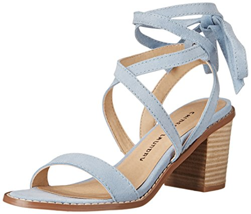 Chinese Laundry Women's Calvary Split Sue Heeled Sandal