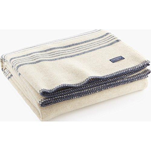 Faribault Weekender Stripe Wool Throw