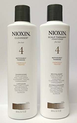 Nioxin System #4 Cleanser Shampoo 10.1 oz. & Scalp Therapy Conditioner 10.1 oz. Duo Set