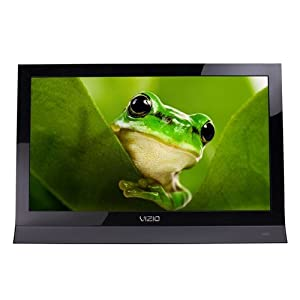 VIZIO E191VA 19-Inch 60Hz LED LCD Class Edge Lit Razor HDTV (Black)