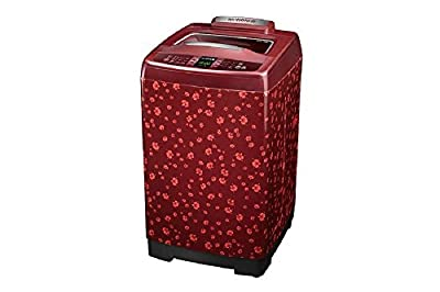 Samsung WA75F4H6QWP/TL Fully-automatic Top-loading Washing Machine (7.5 Kg, Scarlet Red and O'cherry pattern)