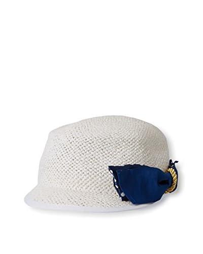 Magid Women's Straw Cap, White