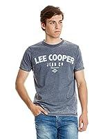 Lee Cooper Camiseta Manga Corta Fairford (Azul Oscuro)
