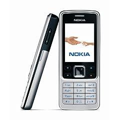 Nokia 6300 black silver (EDGE, Bluetooth, Kamera mit 2 MP, Musik-Player, Stereo-UKW-Radio, Organizer) Handy ohne Vertrag, ohne Branding, kein Simlock