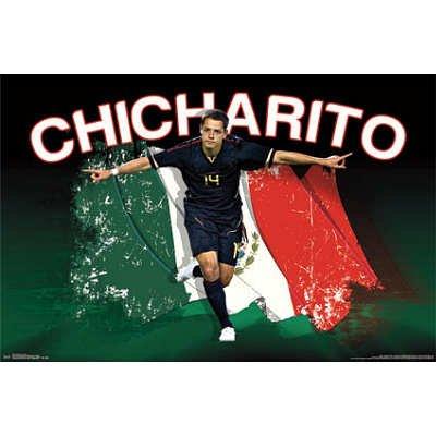 (22x34) Javier Hernandez Chicharito Bandera Soccer Sports Poster