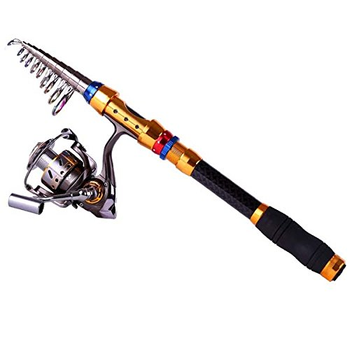 Telescopic saltwater fishing rod and reel combos from for Saltwater fishing rod and reel combos