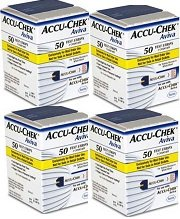 Aviva Test Strips Bundle Deal Buy 4 boxes of 50 Mail Order and SAVE!!