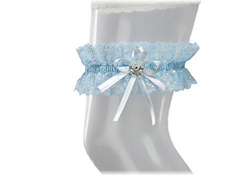 Liga-elstica-de-Must-Have-a-la-boda-de-con-cristales-en-forma-de-mariposa-BLANCO-MARFIL-AZUL