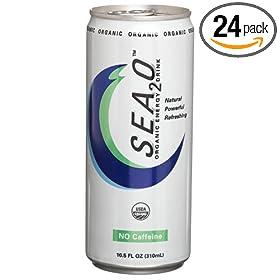 Amazon - Sea2O Organic Energy Drink - Pack of 24 - $43