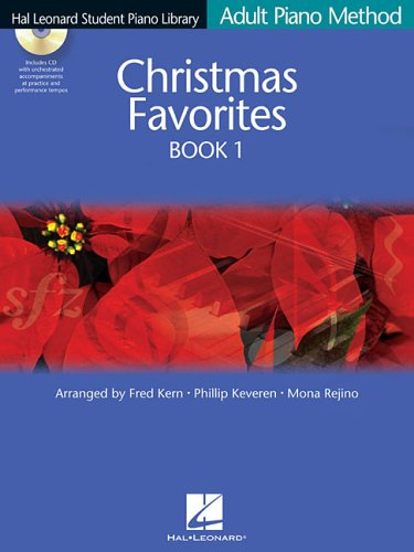 Christmas Favorites Book 1 BK/CD Adult Piano Method (Hal...