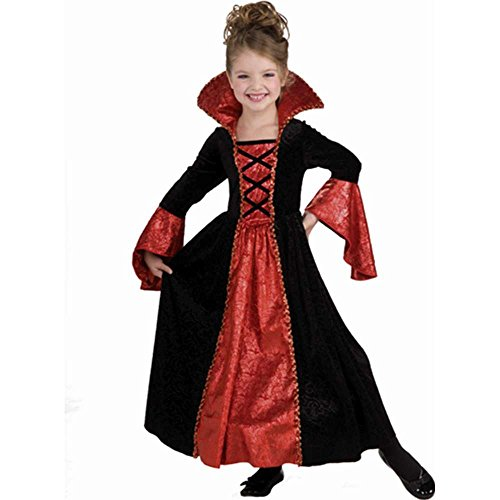 Vampire Princess Costume Dress, Child Small