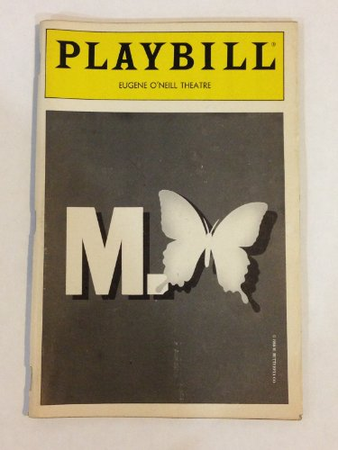 M. Madame Butterfly Playbill - Eugene O'Neil Theatre - May 1988 - Vol 88 No 5