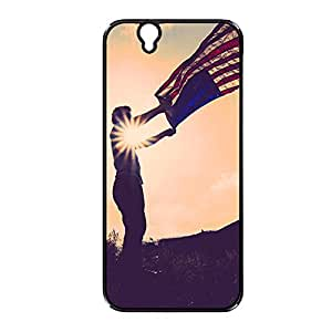 Vibhar printed case back cover for Sony Xperia Z WavingFlag