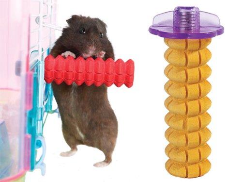Biddie Buddies Small Animal Honey Flavored Nibble Stick Chew Treat for Hamsters Gerbils & Mice 3.5″L x 1.5″W