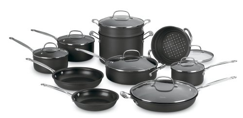 Cheap Best Nonstick Cookware Sets :  nonstickanodized potsanodized reviewscookware reviewscuisinart