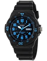 Casio Unisex MRW200H 2BV Neo Display Black
