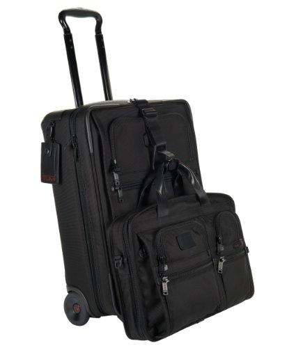 TumiTumi Alpha 2 International Wheel Slim Carry-On, Black, One Size