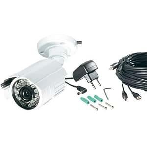 Caméra couleur CCD, 420 lignes TV, 3,6 mm Conrad