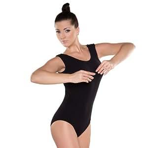 Shepa Damen ärmellos Gymnastikanzug Ballettanzug 36