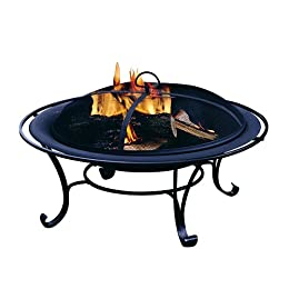 Outdoor Gas Fire Bowls in Slate & Marble at Tar