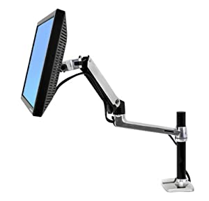 Ergotron 45 295 026   LX DESK MOUNT LCD ARM TALL POLE   .       Customer review and more description