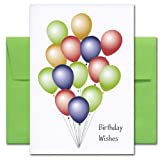 Birthday Cards: Big Bunch of Wishes, box of 10 cards & envelopes
