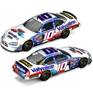 Valvoline #10 Scott Riggs Limited Edition Diecast Disney Cars