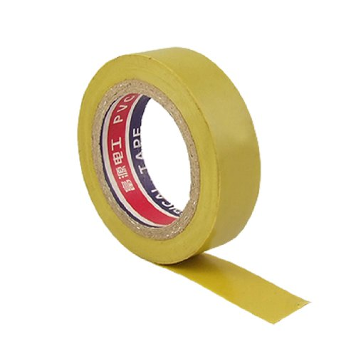 Amico Pvc Wire Adhesive Insulation Electrical Tape, 10M Length X 15Mm Width, Yellow