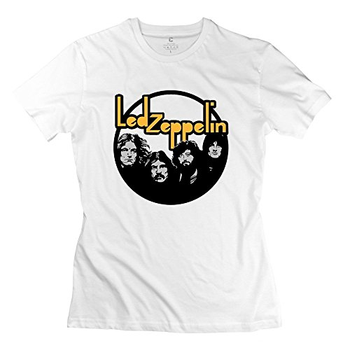 SPOW Women's Led Zeppelin Rock Band Song Remains The Same Vintage T-Shirt 0