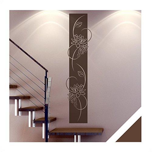 Wandtattoo medina florales wandbanner inkl rakel ban14 - Wandgestaltung diele ...
