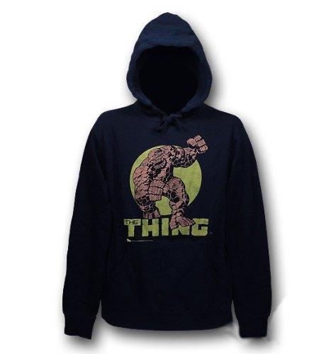 The Thing Fantastic Four Junk Food Mens Hoodie