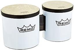 Remo Festival Bongo Drum - White, 6\