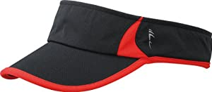 Running Sunvisor/Myrtle Beach (MB 6545), black/red