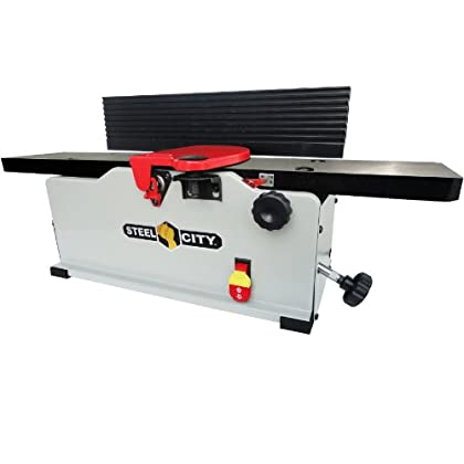 Online Purchase Steel City Tool Works 40610CH 6-Inch Cast Iron Bench Jointer with Helical Cutter Head