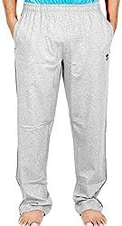 Scorpion Mens Cotton Pyjama Bottoms -Grey Melange -Large