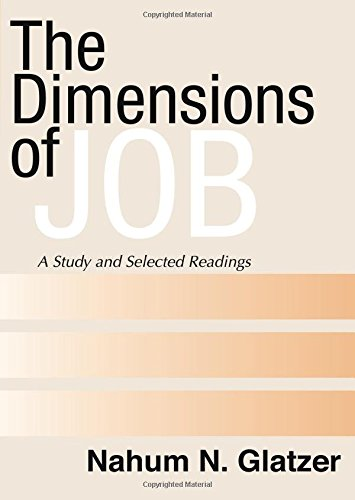 The Dimensions of Job: A Study and Selected Readings