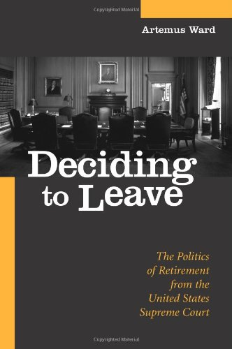 Deciding To Leave (Suny Series In American Constitutionalism) front-399117