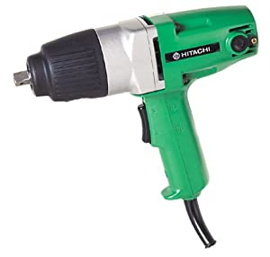 hitachi wh16 1 2 inch square drive electric impact wrench home improvement. Black Bedroom Furniture Sets. Home Design Ideas