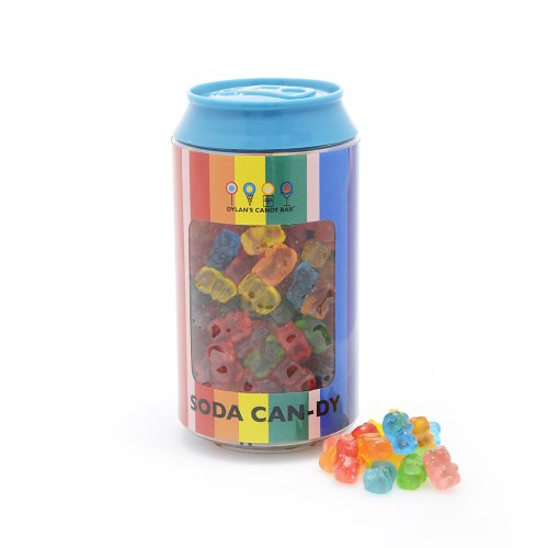 Dylan's Candy Bar Soda Can filled with Mini Gummy Bears