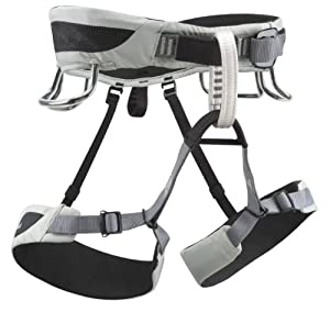 Black Diamond Momentum AL Climbing Harness - Men's (Medium / Cool Gray)