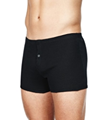 3 Pack Pure Cotton Assorted Trunks