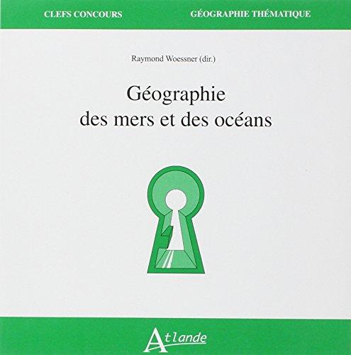 Geographie des mers et des océans