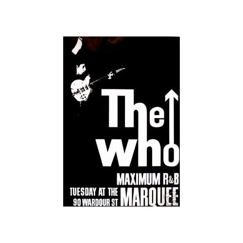 At the Marquee NEW: The Who Live At The Marquee: Posters & Prints