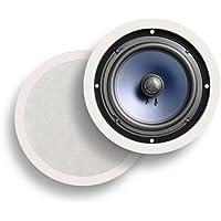 Polk Audio RC80i 2-Way In-Ceiling Speakers Pair (White)