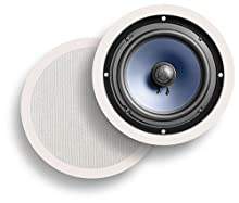 Polk Audio RC80i 2-Way In-Ceiling Speakers Pair White