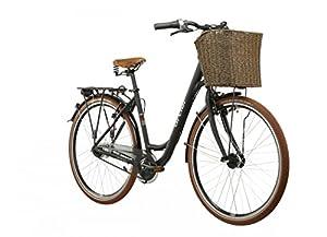 Ortler Rembrandt Damen schwarz matt Rahmengröße 55 cm 2016 Cityrad