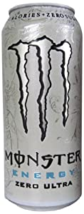 Monster Energy Zero Ultra, 16 Ounce (Pack of 24)
