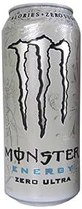 Monster Energy Zero Ultra, 16 Ounce (Pack of 24)